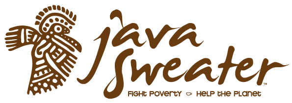 Javasweater logo brown